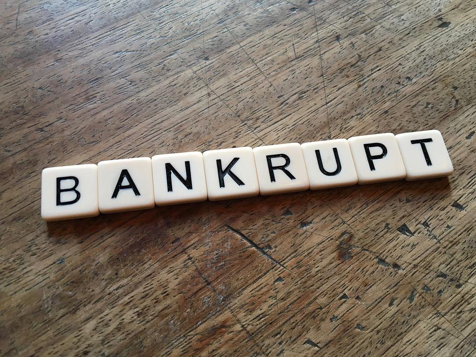 Písmenka bankrot