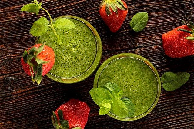 Zelený koktejl